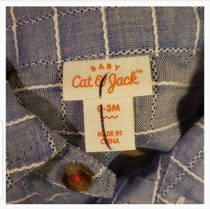 Cat & Jack Matching Sets - $5 ADD TO BUNDLE! Button Shirt & Shorts Set